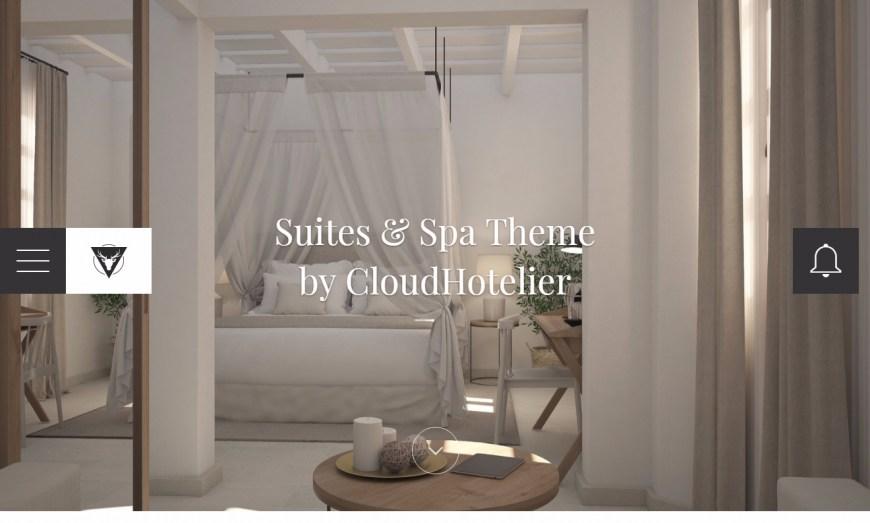 Suites & Spa, el nuevo tema de CloudHotelier