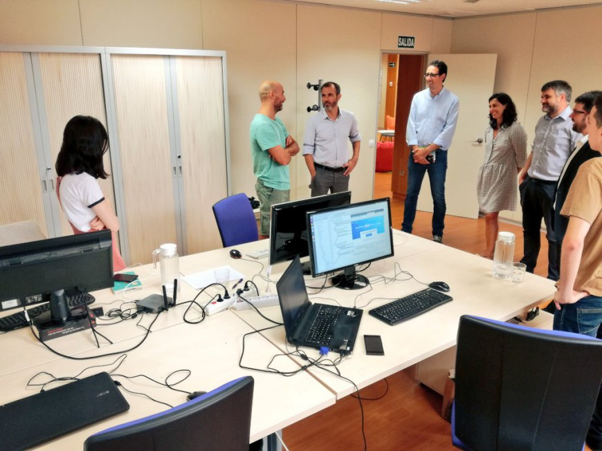 Visita del Conseller d'Innovació al Centre Bit Menorca