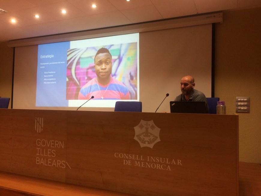 Presentación de marketing digital para empresas turísticas